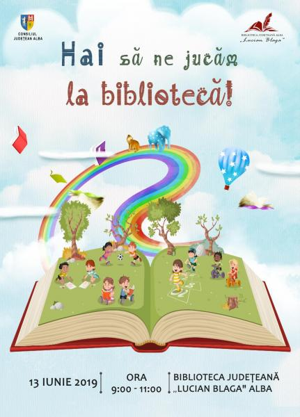 """,,Hai să ne jucăm la bibliotecă!"""", un nou proiect al Bibliotecii Județene ,,Lucian Blaga"""" Alba"""