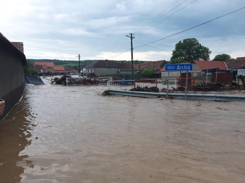 ISU Alba – Situația operativă din județul Alba în contextul manifestării fenomenelor meteo periculoase