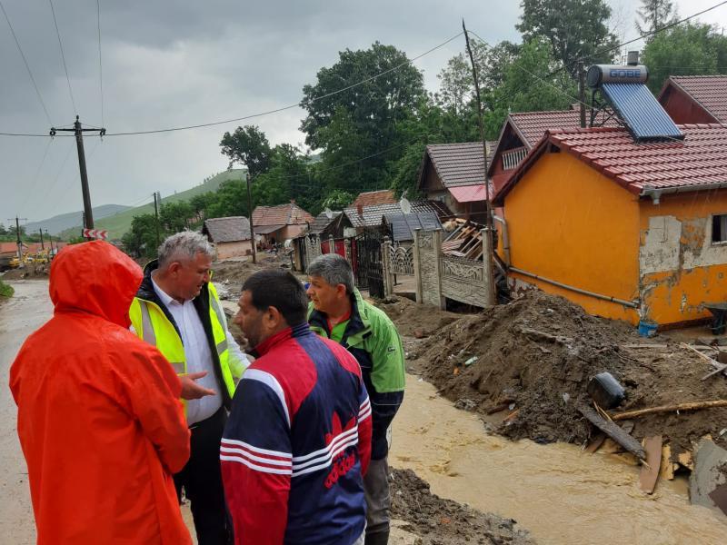Măsurile luate de Comitetul Județean pentru Situații de Urgență Alba în urma inundațiilor care au avut loc în județul Alba