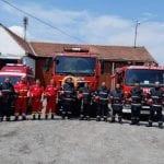 Ei sunt pompierii care i-au salvat pe cei doi copii din apele râului Sebeș (foto)