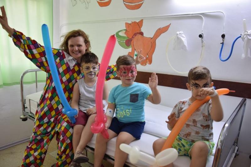 Petreceri pentru pacienții internați în cadrul secției de Pediatrie a Spitalului județean Alba