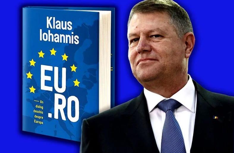 Preşedintele Klaus Iohannis își lansează o nouă carte vineri, la Alba Iulia