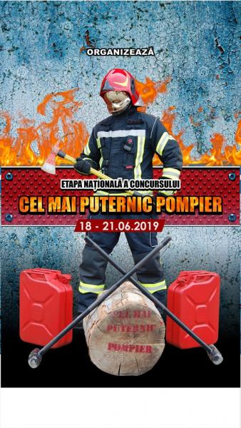 """Alba Iulia va găzdui etapa națională a competiției """"Cel Mai Puternic Pompier"""""""