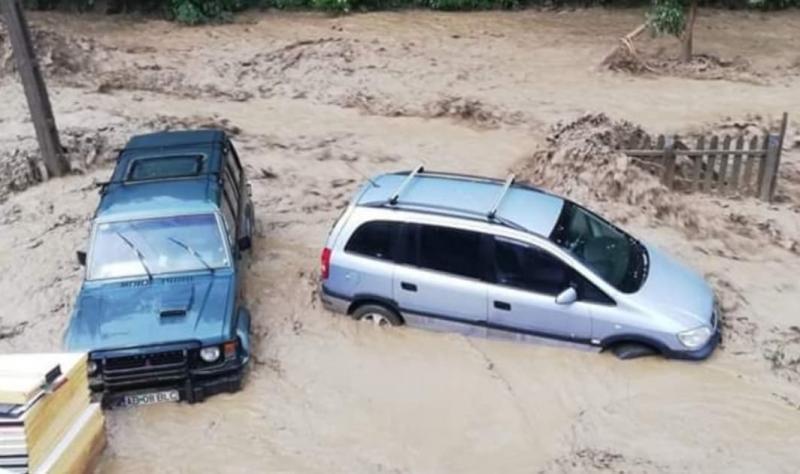 Primarul din Pianu vorbește în exclusivitate despre dezastrul produs de viituri în comuna pe care o conduce