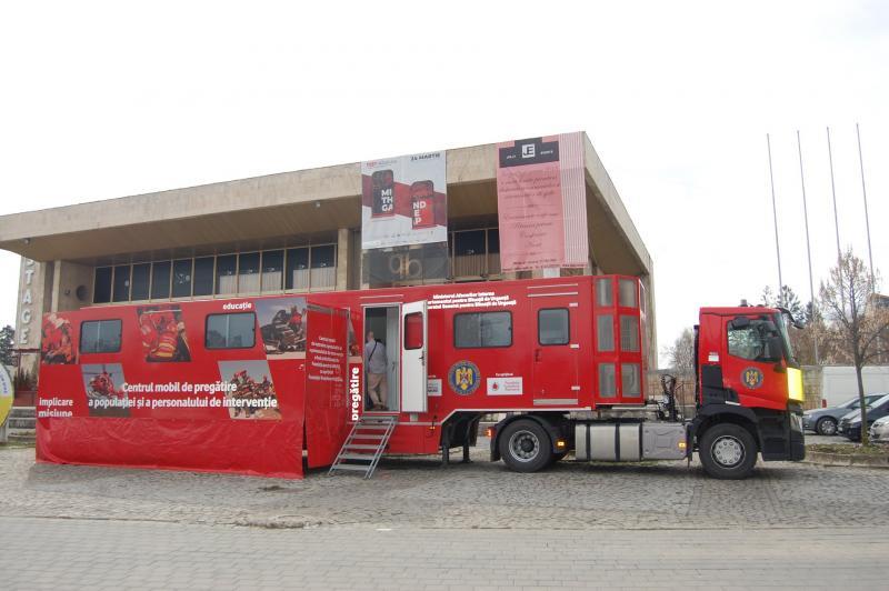 "Caravana SMURD ""Fii pregătit!"" ajunge la Alba Iulia!"