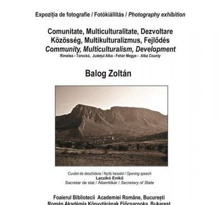 Aiudeanul Zoltan Balog își expune lucrările la Biblioteca Academiei Române