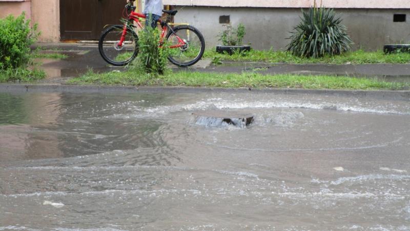 Pericol de inundații în bazinele râurilor Sebeș și Ampoi