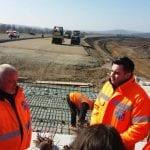Ministrul Transporturilor și directorul CNAIR, în inspecție pe șantierul autostrăzii Sebeș-Turda
