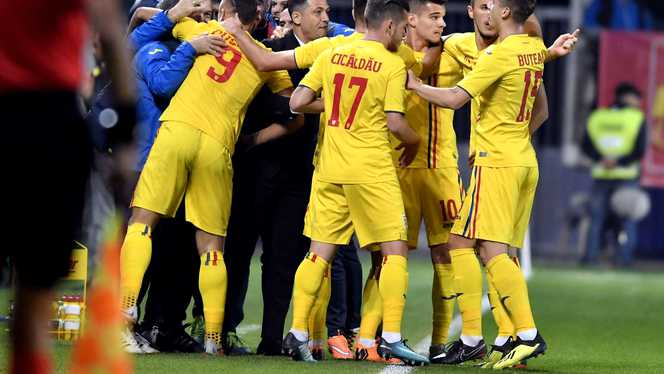 Debut cu victorie a echipei naționale de tineret a României la EURO U21