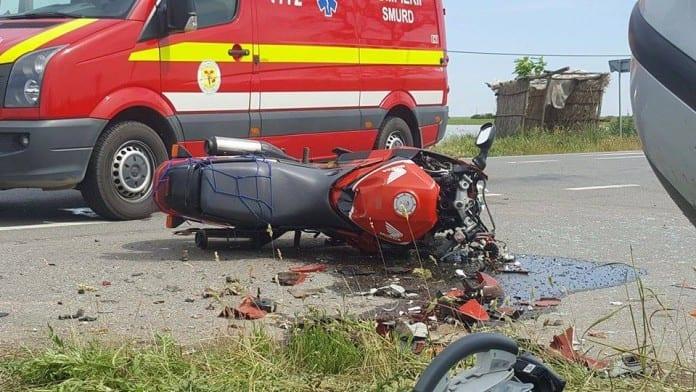 Tragedie! Un motociclist a murit pe DN14 B
