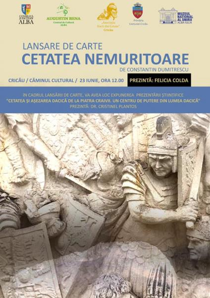 Lansare de carte la Căminul Cultural din Cricău