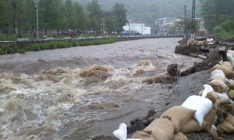 Județul Alba rămâne sub spectrul CODULUI PORTOCALIU de inundații