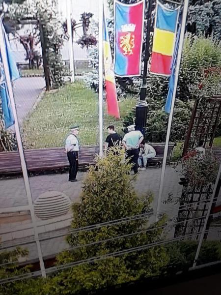 Imagini surprinse de camerele de supraveghere din municipiul Sebeș (foto)
