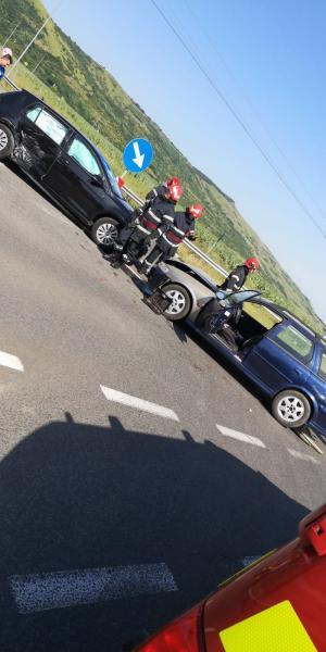 Sebeș – Ciocnire între două autoturisme soldată cu o victimă (foto)