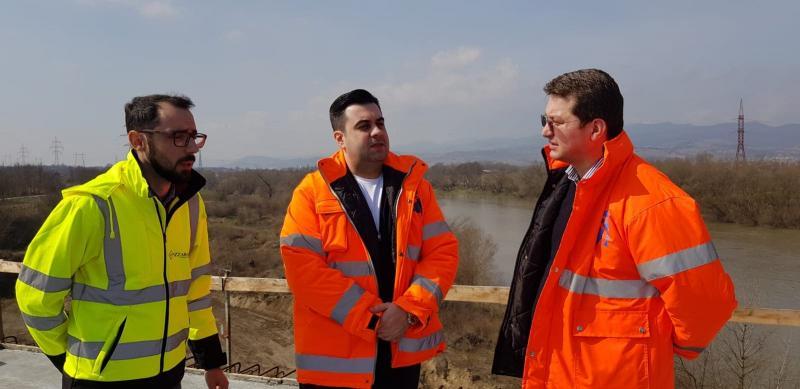 Ministrul Transporturilor, Răzvan Cuc vine să verifice stadiul lucrărilor la Autostrada Sebeș – Turda,