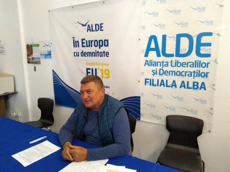 """Ioan Lazăr, ALDE Alba: """"Ioan Dîrzu, un Dragnea al politicii județene""""!!!"""