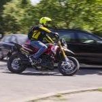 Ocna Mureș - Sancțiune contravențională pentru un motociclist care a tulburat ordinea și liniștea publică