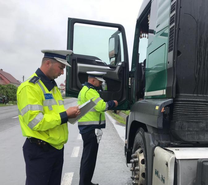 """Între 22 și 28 iulie, Direcţia Rutieră a Poliţiei Române va efectua o nouă acțiune """"Truck & Bus"""""""