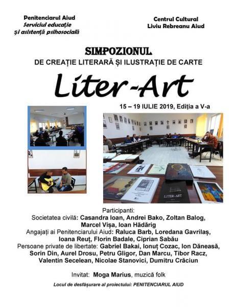 """Între 15 și 19 iulie, la Penitenciarul Aiud are loc a V-a ediție a simpozionului """"LITER-ART'"""
