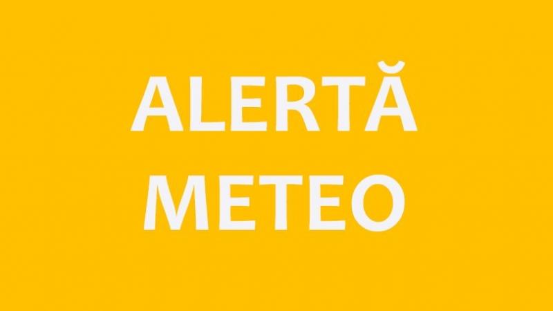 Alertă meteo! Mai multe localități din județul Alba vizate de avertizarea Cod Portocaliu