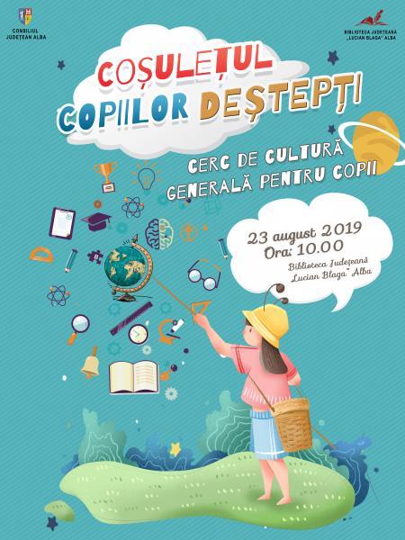 Coșulețul copiilor deștepți, proiect de cultură general pentru copii