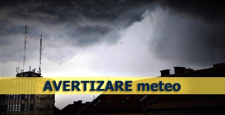 ANM – Avertizare Cod Galben de vreme severă imediată pentru județul Alba