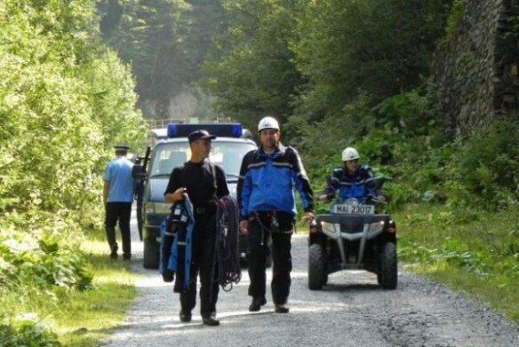 Acțiune de căutare a unei persoane rătăcite în zona muntoasă dintre Șugag și Jina