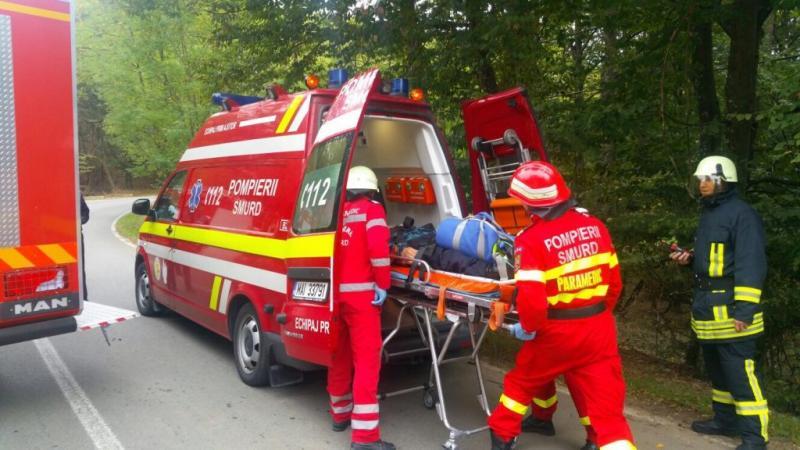 Alba Iulia – Accident rutier soldat cu o victimă în zona Pârâului Iovului