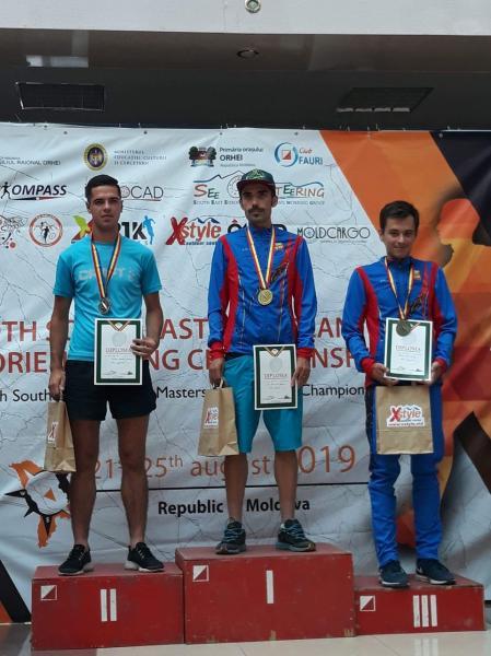 Sportivul CS Unirea Alba Iulia,Ionuț Alin Zincă, a dominat Campionatele Sud-Est Europene de Orientare