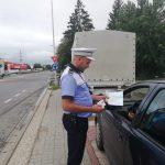 Amenzi de 217.500 lei acordate într-o săptămână de polițiștii rutieri din Alba în cadrul operațiunii TISPOL ''Speed''
