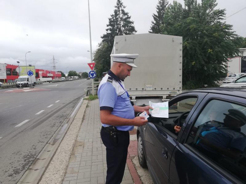 """Amenzi de 217.500 lei acordate într-o săptămână de polițiștii rutieri din Alba în cadrul operațiunii TISPOL """"Speed"""""""