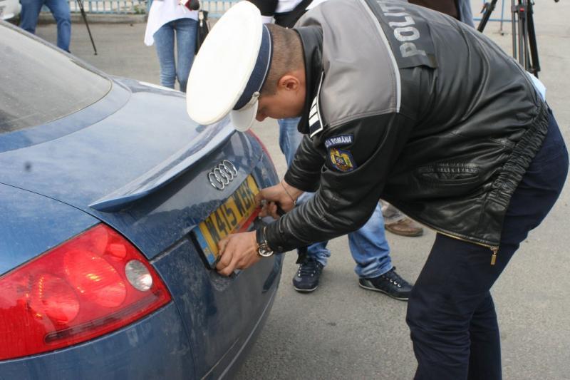 Acţiune de verificare a stării tehnice a autovehiculelor, la Abrud
