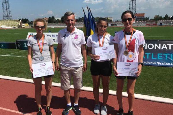 Performanță - Sportivii CS Unirea Alba Iulia au obținut patru medalii la Campionatul Național de Marș
