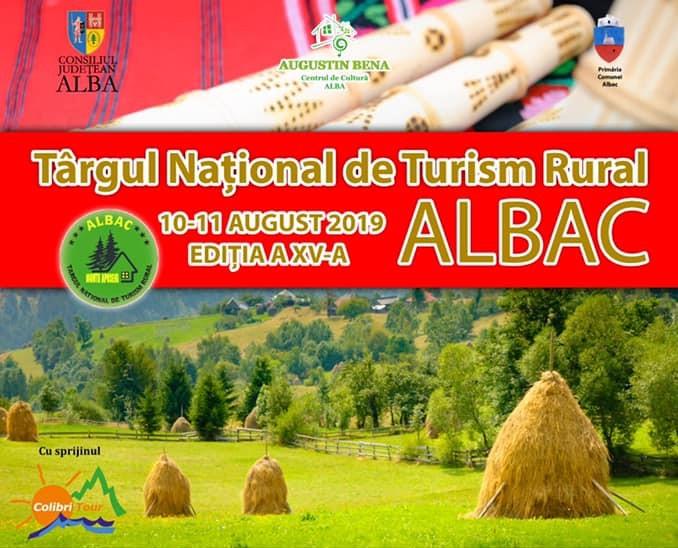 Târgul Naţional de Turism Rural Albac – Staţiunea Albac devine capitala turismului rural românesc