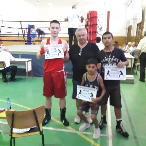 Trei locuri I pentru pugiliștii Clubului Sportiv Unirea Alba Iulia