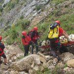 Rimetea - Intervenție de evacuare a unei femei accidentate pe un traseu turistic