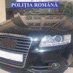 Autoturism urmărit de autorităţile britanice, depistat de poliţiştii din Alba