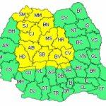 ALERTĂ meteo: Cod galben de furtună în mai multe judeţe/ HARTA zonelor afectate