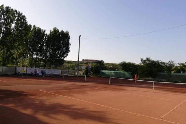 Finala pe Forțele Aeriene a campionatului militar de tenis în Garnizoana Alba Iulia