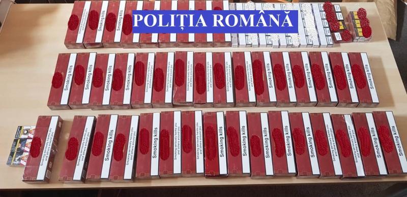 Cinci percheziții ale IPJ Alba la domiciliile unor suspecți de contrabandă cu țigări (foto)