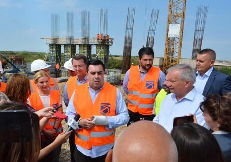O nouă vizită a ministrului Transporturilor pe loturile 3 și 4 ale Autostrăzii Lugoj – Deva