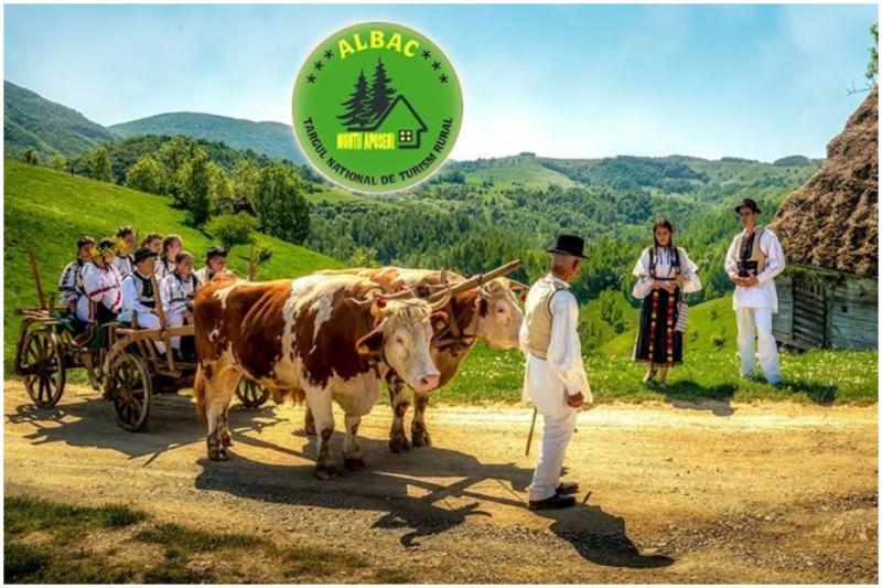 În weekend, la Albac are loc ediția a XV-a a Târgului Naţional de Turism Rural
