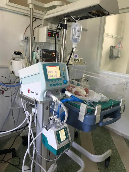 """""""Salvați Copiii"""" România dotează  Spitalul Municipal Sebeș și Spitalul Județean de Urgență Alba Iulia cu aparatură în valoare de 18.000 de euro"""