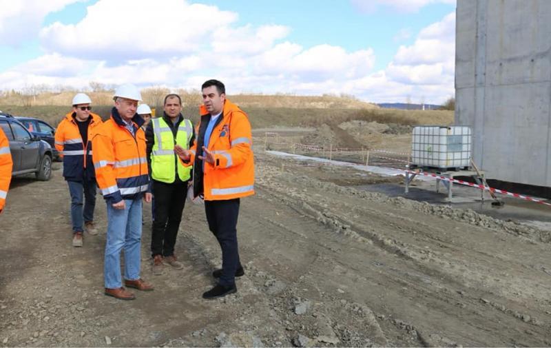 O nouă inspecție a ministrului Transporturilor pe lotul 3 al Autostrăzii Lugoj – Deva