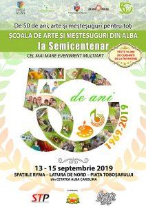 Școala de Arte și Meșteșuguri din Alba la Semicentenar – cel mai mare eveniment cultural multiart organizat la Alba Iulia