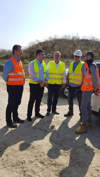 Ministrul Răzvan Cuc in control la autostrada Sebeș Turda