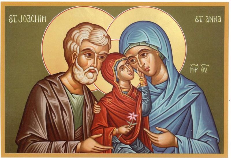 Zi mare în calendarul ortodox – Sunt prăznuiți Sfinții şi Drepţii dumnezeieşti Părinţi Ioachim şi Ana