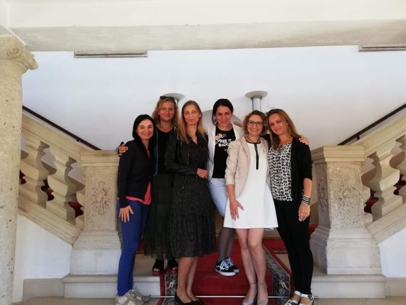 Oaspeți din Polonia la universitatea Albaiuliană