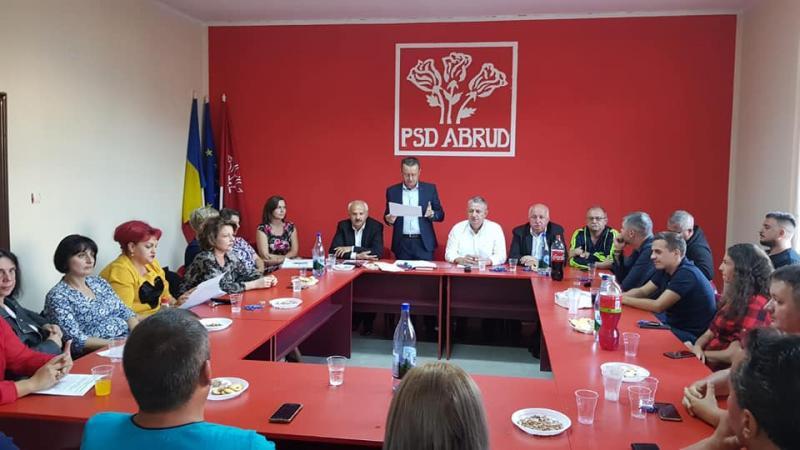 PSD Abrud și-a ales conducerea pentru următorii 4 ani