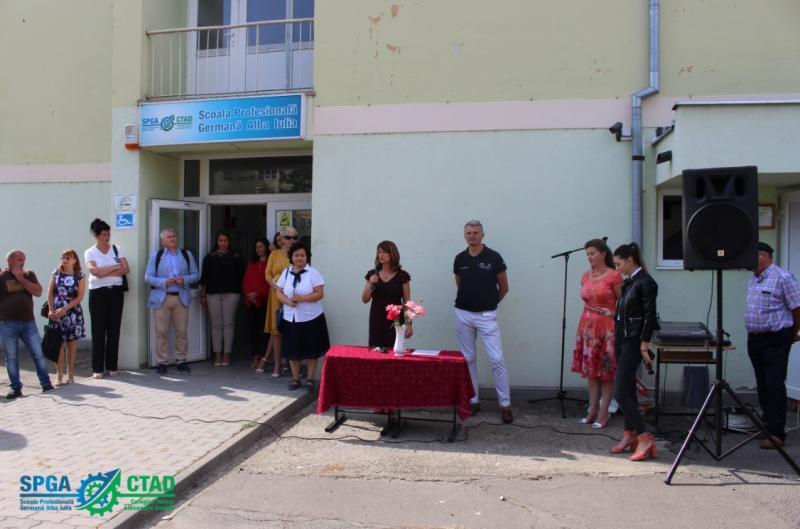 Luni, 09.09.2019, a avut loc Festivitatea de deschidere a anului școlar 2019-2020 a Școlii Profesionale Germane Alba